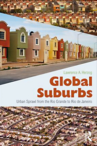 Global Suburbs by Lawrence Herzog : book cover